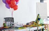 Het verfraaien van ideeën met ballonnen