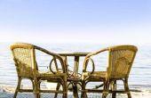 Hoe schoon de schimmel uit bamboe meubels