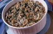 Wat kan ik gebruiken naast crème van paddenstoel in Green Bean Casserole?