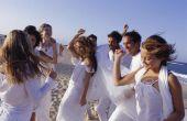 Hoe een lijst van nummers op een bruiloft programma
