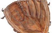 Hoe opnieuw string een honkbal of softbal handschoen