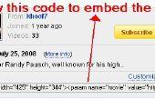 Hoe Embed een YouTube-Video in een WordPress Blog
