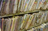 Richtsnoeren voor een beleid voor het bewaren van Document