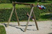 Hoe ontwerp je een houten schommel