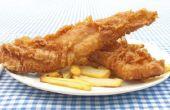 Hoe maak je het beslag voor gefrituurde vis of kip