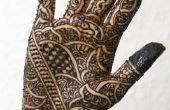 Hoe donkerder een Henna Tattoo