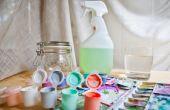 Hoe om te mengen van acrylverf voor een Airbrush
