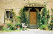 Hoe maak je van een Plant Pot Look Toscaanse