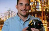 Welke materialen kan mijn infrarood Lens niet zien via?