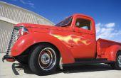 Hoe om te herstellen van een klassieke Truck