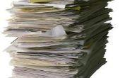 Hoe om papier afval te verminderen