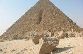Welke materialen worden gebruikt voor het bouwen van een piramide?