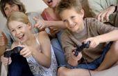 De gevolgen van Video Games voor kinderen veel knipperen