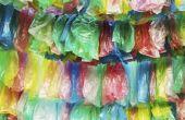 Hoe maak je een krans met Prullenmand tassen en een Hanger