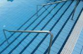 Tannine vlekken verwijderen uit de trappen van een Pool