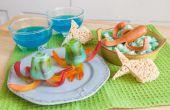 Zee schepsel Snacks voor kinderen om te maken