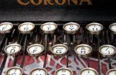 Hoe het schrijven van een Essay van de Word 2000