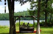 DIY voor veranda Swing piept