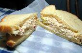 Hoe maak je een Sandwich van de kaas Pimiento (Spaanse peper)
