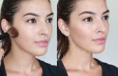 Het toepassen van Contour make-up