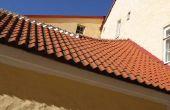 Schade van het dak en vogelpoep