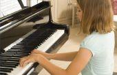 Hoe de praktijk Piano