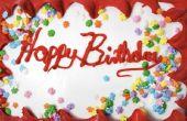 Hoe geef je vrouw een grote verjaardag verrassing
