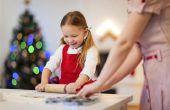 Eenvoudige kerst ideeën bakken voor kinderen