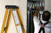 Het bijwerken van de binnenlandse elektrische Service