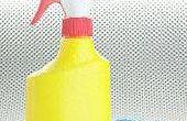 Hoe met bleekwater schoon