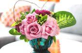 Hoe maak je mooie, Money-Saving Valentijnsdag bloemen