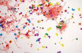 Hoe maak je biologisch afbreekbaar Confetti