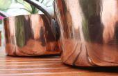 Metalen te mengen in het versieren van een huis