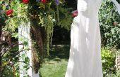 Casual achtertuin bruiloft ideeën