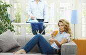 Hoe te te krijgen gemotiveerd om het huis schoon te maken