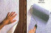 Hoe hangen behang Liner