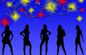 Hoe Word een uitnodiging voor een Girls' Night Out