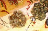 Hoe schoon Soft-Shell kokkels (Steamers)