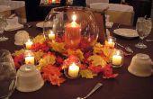 Doe het zelf decoratie tafel