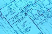 Hoe teken je Architect plannen voor een huis