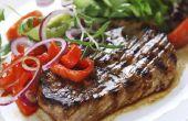 Hoe om te koken Steak op een Cuisinart Jabra