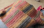 Hoe haak een sjaal met behulp van enkele haak