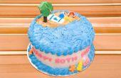 Cake versieren ideeën voor een 60-jarige