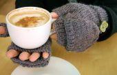 Hoe te breien converteerbare Vingerloze handschoenen