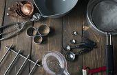 Als je gaat bakken, zijn dit de Tools & apparatuur u nodig