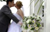 Lijst van dingen te Plan voor in een bruiloft