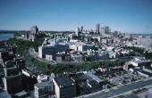 Reizen per trein naar Quebec City