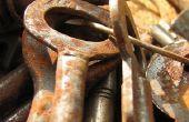Hoe schoon roest uit Vintage sleutels