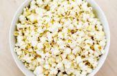 Hoe maak je je eigen kruiden boter-smaak Popcorn