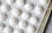 Hoe maak je Mexicaanse bruiloft Cookies